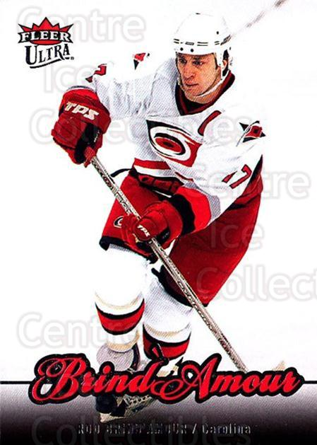 2007-08 Ultra #166 Rod Brind'Amour<br/>5 In Stock - $1.00 each - <a href=https://centericecollectibles.foxycart.com/cart?name=2007-08%20Ultra%20%23166%20Rod%20Brind'Amour...&quantity_max=5&price=$1.00&code=136133 class=foxycart> Buy it now! </a>