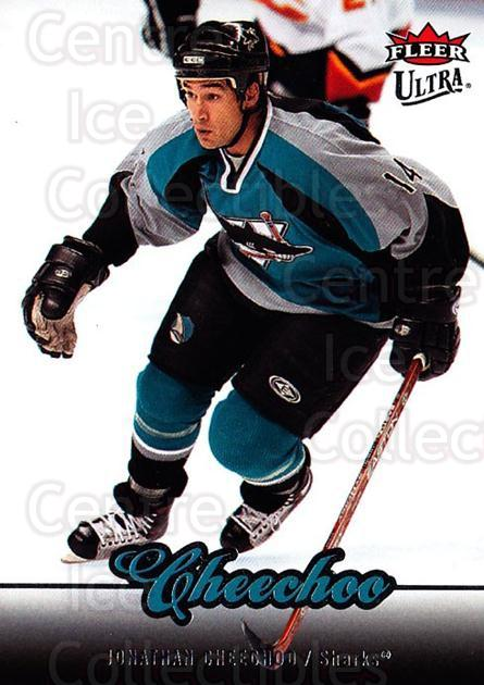 2007-08 Ultra #34 Jonathan Cheechoo<br/>3 In Stock - $1.00 each - <a href=https://centericecollectibles.foxycart.com/cart?name=2007-08%20Ultra%20%2334%20Jonathan%20Cheech...&quantity_max=3&price=$1.00&code=136187 class=foxycart> Buy it now! </a>