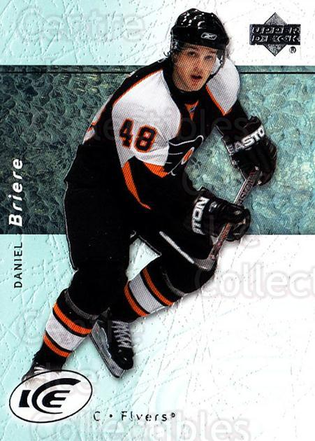 2007-08 UD Ice #12 Daniel Briere<br/>5 In Stock - $1.00 each - <a href=https://centericecollectibles.foxycart.com/cart?name=2007-08%20UD%20Ice%20%2312%20Daniel%20Briere...&quantity_max=5&price=$1.00&code=136215 class=foxycart> Buy it now! </a>