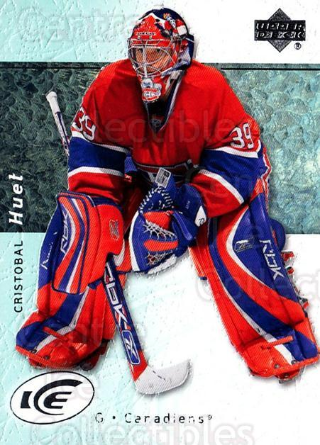 2007-08 UD Ice #27 Cristobal Huet<br/>5 In Stock - $1.00 each - <a href=https://centericecollectibles.foxycart.com/cart?name=2007-08%20UD%20Ice%20%2327%20Cristobal%20Huet...&quantity_max=5&price=$1.00&code=136229 class=foxycart> Buy it now! </a>