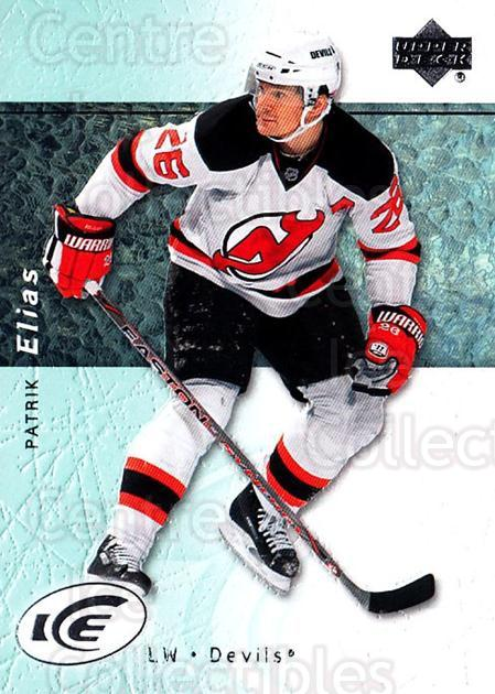 2007-08 UD Ice #3 Patrik Elias<br/>5 In Stock - $1.00 each - <a href=https://centericecollectibles.foxycart.com/cart?name=2007-08%20UD%20Ice%20%233%20Patrik%20Elias...&quantity_max=5&price=$1.00&code=136232 class=foxycart> Buy it now! </a>