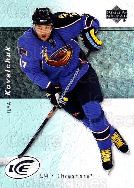 2007-08 UD Ice #37 Ilya Kovalchuk<br/>5 In Stock - $1.00 each - <a href=https://centericecollectibles.foxycart.com/cart?name=2007-08%20UD%20Ice%20%2337%20Ilya%20Kovalchuk...&quantity_max=5&price=$1.00&code=136240 class=foxycart> Buy it now! </a>