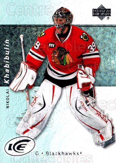 2007-08 UD Ice #52 Nikolai Khabibulin<br/>5 In Stock - $1.00 each - <a href=https://centericecollectibles.foxycart.com/cart?name=2007-08%20UD%20Ice%20%2352%20Nikolai%20Khabibu...&quantity_max=5&price=$1.00&code=136256 class=foxycart> Buy it now! </a>
