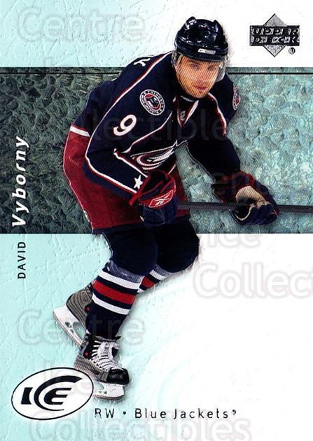 2007-08 UD Ice #56 David Vyborny<br/>5 In Stock - $1.00 each - <a href=https://centericecollectibles.foxycart.com/cart?name=2007-08%20UD%20Ice%20%2356%20David%20Vyborny...&quantity_max=5&price=$1.00&code=136260 class=foxycart> Buy it now! </a>