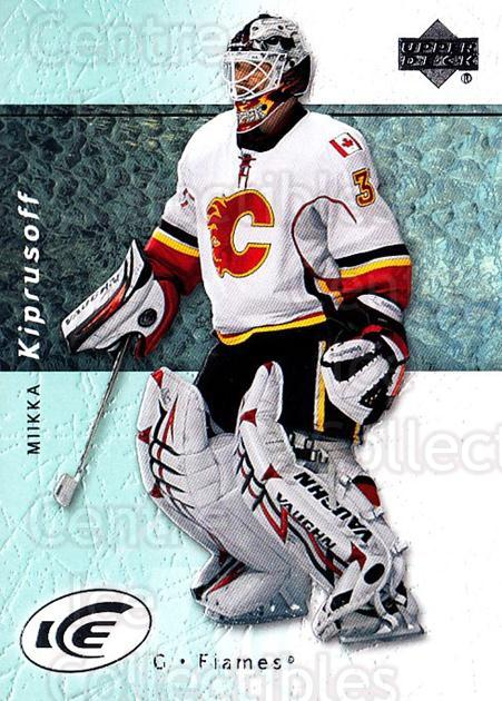 2007-08 UD Ice #69 Miikka Kiprusoff<br/>6 In Stock - $2.00 each - <a href=https://centericecollectibles.foxycart.com/cart?name=2007-08%20UD%20Ice%20%2369%20Miikka%20Kiprusof...&quantity_max=6&price=$2.00&code=136274 class=foxycart> Buy it now! </a>