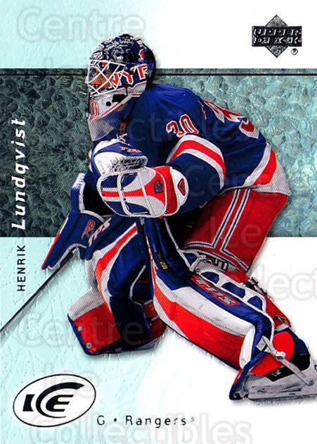 2007-08 UD Ice #8 Henrik Lundqvist<br/>4 In Stock - $2.00 each - <a href=https://centericecollectibles.foxycart.com/cart?name=2007-08%20UD%20Ice%20%238%20Henrik%20Lundqvis...&quantity_max=4&price=$2.00&code=136286 class=foxycart> Buy it now! </a>