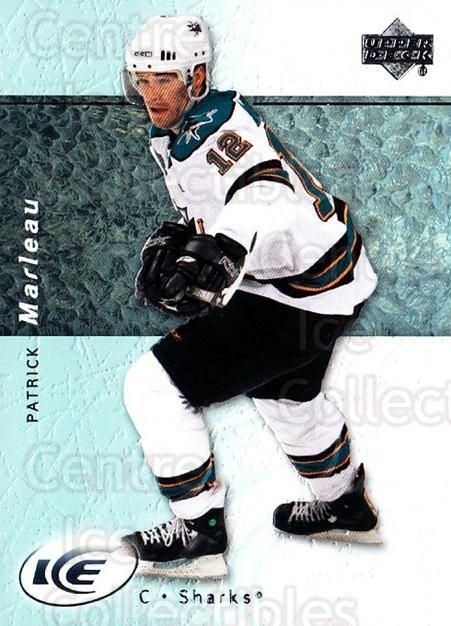 2007-08 UD Ice #98 Patrick Marleau<br/>6 In Stock - $1.00 each - <a href=https://centericecollectibles.foxycart.com/cart?name=2007-08%20UD%20Ice%20%2398%20Patrick%20Marleau...&quantity_max=6&price=$1.00&code=136306 class=foxycart> Buy it now! </a>