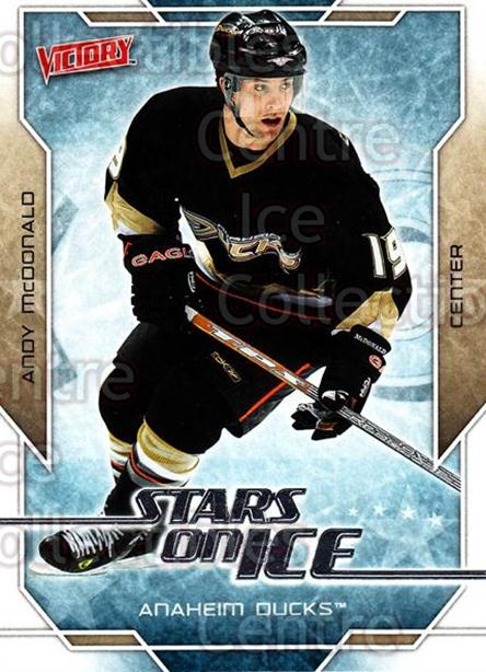2007-08 UD Victory Stars on Ice #20 Andy McDonald<br/>5 In Stock - $2.00 each - <a href=https://centericecollectibles.foxycart.com/cart?name=2007-08%20UD%20Victory%20Stars%20on%20Ice%20%2320%20Andy%20McDonald...&quantity_max=5&price=$2.00&code=136311 class=foxycart> Buy it now! </a>