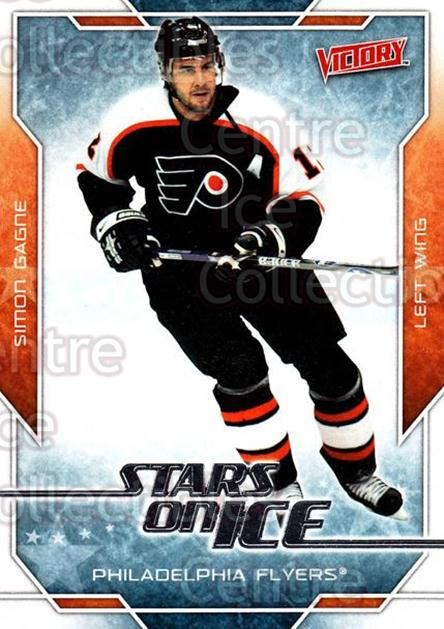 2007-08 UD Victory Stars on Ice #25 Simon Gagne<br/>5 In Stock - $2.00 each - <a href=https://centericecollectibles.foxycart.com/cart?name=2007-08%20UD%20Victory%20Stars%20on%20Ice%20%2325%20Simon%20Gagne...&quantity_max=5&price=$2.00&code=136314 class=foxycart> Buy it now! </a>