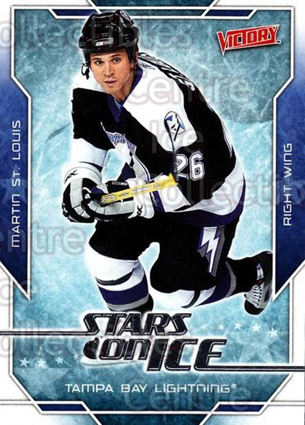 2007-08 UD Victory Stars on Ice #26 Martin St. Louis<br/>5 In Stock - $2.00 each - <a href=https://centericecollectibles.foxycart.com/cart?name=2007-08%20UD%20Victory%20Stars%20on%20Ice%20%2326%20Martin%20St.%20Loui...&quantity_max=5&price=$2.00&code=136315 class=foxycart> Buy it now! </a>
