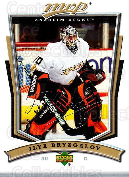2007-08 Upper Deck MVP #103 Ilya Bryzgalov<br/>5 In Stock - $1.00 each - <a href=https://centericecollectibles.foxycart.com/cart?name=2007-08%20Upper%20Deck%20MVP%20%23103%20Ilya%20Bryzgalov...&quantity_max=5&price=$1.00&code=136338 class=foxycart> Buy it now! </a>