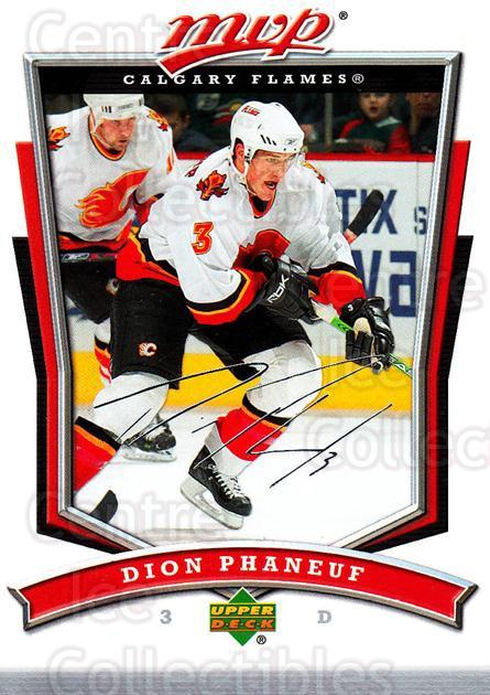 2007-08 Upper Deck MVP #116 Dion Phaneuf<br/>4 In Stock - $1.00 each - <a href=https://centericecollectibles.foxycart.com/cart?name=2007-08%20Upper%20Deck%20MVP%20%23116%20Dion%20Phaneuf...&price=$1.00&code=136352 class=foxycart> Buy it now! </a>