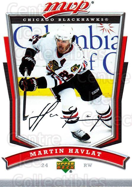 2007-08 Upper Deck MVP #12 Martin Havlat<br/>5 In Stock - $1.00 each - <a href=https://centericecollectibles.foxycart.com/cart?name=2007-08%20Upper%20Deck%20MVP%20%2312%20Martin%20Havlat...&quantity_max=5&price=$1.00&code=136356 class=foxycart> Buy it now! </a>