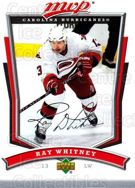 2007-08 Upper Deck MVP #132 Ray Whitney<br/>5 In Stock - $1.00 each - <a href=https://centericecollectibles.foxycart.com/cart?name=2007-08%20Upper%20Deck%20MVP%20%23132%20Ray%20Whitney...&quantity_max=5&price=$1.00&code=136370 class=foxycart> Buy it now! </a>