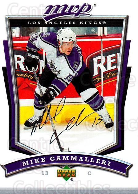 2007-08 Upper Deck MVP #157 Mike Cammalleri<br/>5 In Stock - $1.00 each - <a href=https://centericecollectibles.foxycart.com/cart?name=2007-08%20Upper%20Deck%20MVP%20%23157%20Mike%20Cammalleri...&quantity_max=5&price=$1.00&code=136397 class=foxycart> Buy it now! </a>