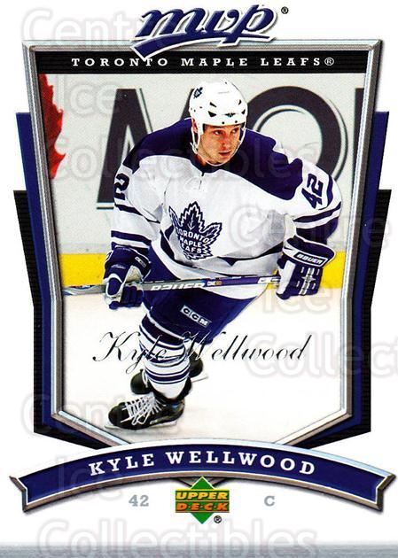 2007-08 Upper Deck MVP #175 Kyle Wellwood<br/>4 In Stock - $1.00 each - <a href=https://centericecollectibles.foxycart.com/cart?name=2007-08%20Upper%20Deck%20MVP%20%23175%20Kyle%20Wellwood...&quantity_max=4&price=$1.00&code=136417 class=foxycart> Buy it now! </a>