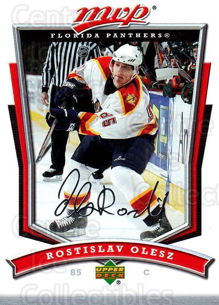 2007-08 Upper Deck MVP #192 Rostislav Olesz<br/>5 In Stock - $1.00 each - <a href=https://centericecollectibles.foxycart.com/cart?name=2007-08%20Upper%20Deck%20MVP%20%23192%20Rostislav%20Olesz...&quantity_max=5&price=$1.00&code=136436 class=foxycart> Buy it now! </a>