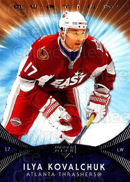 2007-08 UD Ovation #204 Ilya Kovalchuk<br/>7 In Stock - $1.00 each - <a href=https://centericecollectibles.foxycart.com/cart?name=2007-08%20UD%20Ovation%20%23204%20Ilya%20Kovalchuk...&quantity_max=7&price=$1.00&code=136486 class=foxycart> Buy it now! </a>