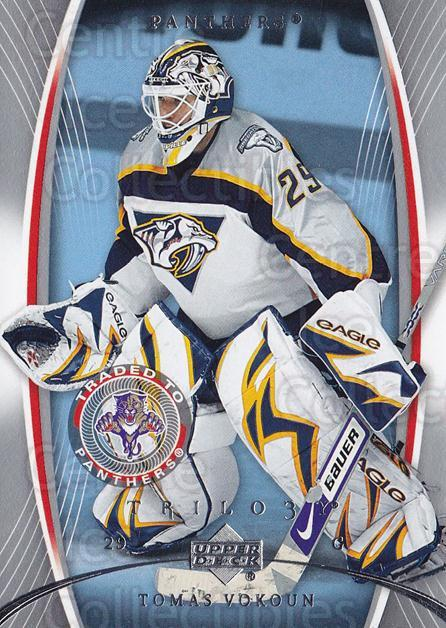 2007-08 UD Trilogy #43 Tomas Vokoun<br/>2 In Stock - $1.00 each - <a href=https://centericecollectibles.foxycart.com/cart?name=2007-08%20UD%20Trilogy%20%2343%20Tomas%20Vokoun...&quantity_max=2&price=$1.00&code=136544 class=foxycart> Buy it now! </a>