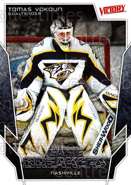 2007-08 UD Victory Game Breakers #27 Tomas Vokoun<br/>3 In Stock - $2.00 each - <a href=https://centericecollectibles.foxycart.com/cart?name=2007-08%20UD%20Victory%20Game%20Breakers%20%2327%20Tomas%20Vokoun...&quantity_max=3&price=$2.00&code=136616 class=foxycart> Buy it now! </a>