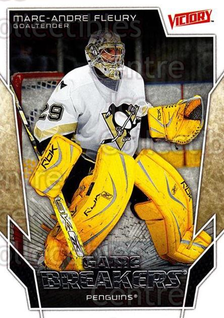 2007-08 UD Victory Game Breakers #30 Marc-Andre Fleury<br/>1 In Stock - $2.00 each - <a href=https://centericecollectibles.foxycart.com/cart?name=2007-08%20UD%20Victory%20Game%20Breakers%20%2330%20Marc-Andre%20Fleu...&quantity_max=1&price=$2.00&code=136619 class=foxycart> Buy it now! </a>