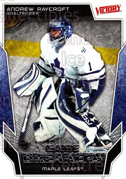 2007-08 UD Victory Game Breakers #41 Andrew Raycroft<br/>3 In Stock - $2.00 each - <a href=https://centericecollectibles.foxycart.com/cart?name=2007-08%20UD%20Victory%20Game%20Breakers%20%2341%20Andrew%20Raycroft...&quantity_max=3&price=$2.00&code=136624 class=foxycart> Buy it now! </a>