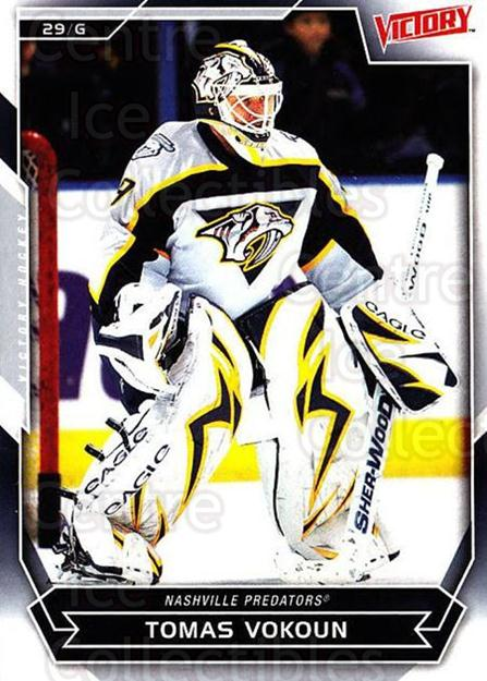 2007-08 UD Victory #105 Tomas Vokoun<br/>6 In Stock - $1.00 each - <a href=https://centericecollectibles.foxycart.com/cart?name=2007-08%20UD%20Victory%20%23105%20Tomas%20Vokoun...&price=$1.00&code=136639 class=foxycart> Buy it now! </a>