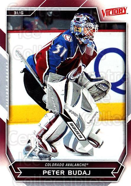 2007-08 UD Victory #152 Peter Budaj<br/>5 In Stock - $1.00 each - <a href=https://centericecollectibles.foxycart.com/cart?name=2007-08%20UD%20Victory%20%23152%20Peter%20Budaj...&price=$1.00&code=136691 class=foxycart> Buy it now! </a>