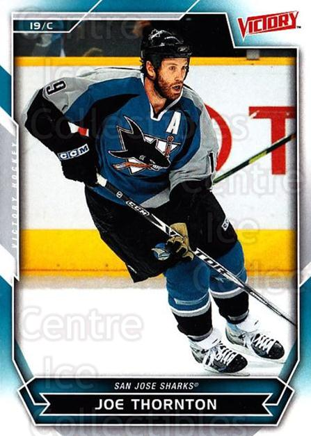 2007-08 UD Victory #181 Joe Thornton<br/>6 In Stock - $1.00 each - <a href=https://centericecollectibles.foxycart.com/cart?name=2007-08%20UD%20Victory%20%23181%20Joe%20Thornton...&price=$1.00&code=136723 class=foxycart> Buy it now! </a>