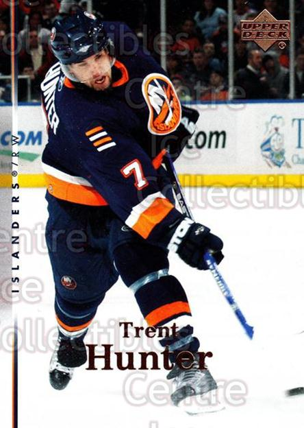 2007-08 Upper Deck #123 Trent Hunter<br/>13 In Stock - $1.00 each - <a href=https://centericecollectibles.foxycart.com/cart?name=2007-08%20Upper%20Deck%20%23123%20Trent%20Hunter...&quantity_max=13&price=$1.00&code=136808 class=foxycart> Buy it now! </a>