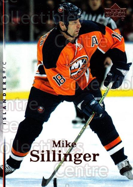 2007-08 Upper Deck #124 Mike Sillinger<br/>13 In Stock - $1.00 each - <a href=https://centericecollectibles.foxycart.com/cart?name=2007-08%20Upper%20Deck%20%23124%20Mike%20Sillinger...&quantity_max=13&price=$1.00&code=136809 class=foxycart> Buy it now! </a>