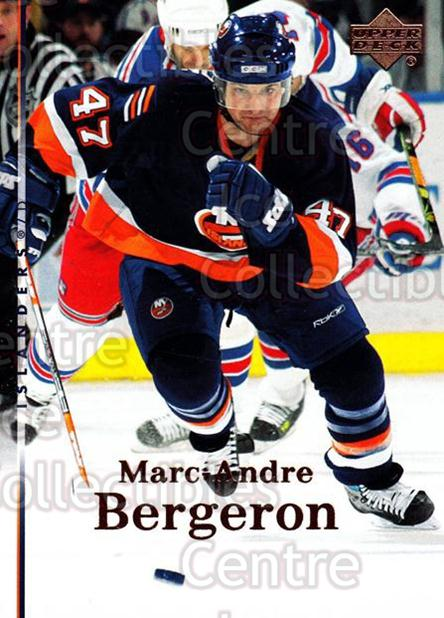2007-08 Upper Deck #125 Marc-Andre Bergeron<br/>13 In Stock - $1.00 each - <a href=https://centericecollectibles.foxycart.com/cart?name=2007-08%20Upper%20Deck%20%23125%20Marc-Andre%20Berg...&quantity_max=13&price=$1.00&code=136810 class=foxycart> Buy it now! </a>