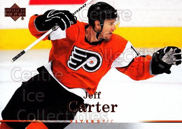 2007-08 Upper Deck #129 Jeff Carter<br/>13 In Stock - $1.00 each - <a href=https://centericecollectibles.foxycart.com/cart?name=2007-08%20Upper%20Deck%20%23129%20Jeff%20Carter...&quantity_max=13&price=$1.00&code=136814 class=foxycart> Buy it now! </a>