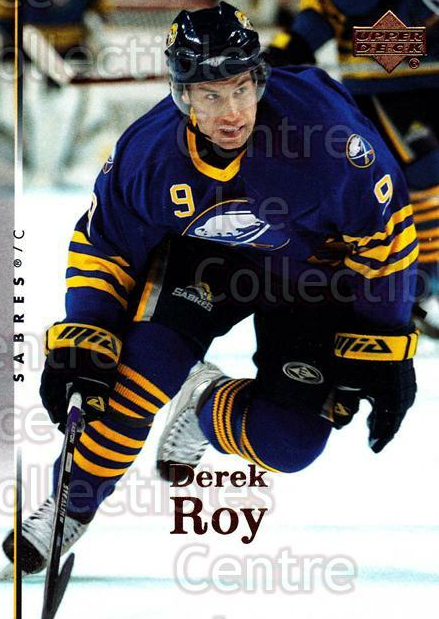 2007-08 Upper Deck #136 Derek Roy<br/>13 In Stock - $1.00 each - <a href=https://centericecollectibles.foxycart.com/cart?name=2007-08%20Upper%20Deck%20%23136%20Derek%20Roy...&quantity_max=13&price=$1.00&code=136822 class=foxycart> Buy it now! </a>