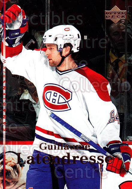 2007-08 Upper Deck #156 Guillaume Latendresse<br/>11 In Stock - $1.00 each - <a href=https://centericecollectibles.foxycart.com/cart?name=2007-08%20Upper%20Deck%20%23156%20Guillaume%20Laten...&quantity_max=11&price=$1.00&code=136844 class=foxycart> Buy it now! </a>