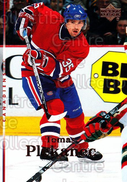 2007-08 Upper Deck #161 Tomas Plekanec<br/>12 In Stock - $1.00 each - <a href=https://centericecollectibles.foxycart.com/cart?name=2007-08%20Upper%20Deck%20%23161%20Tomas%20Plekanec...&quantity_max=12&price=$1.00&code=136850 class=foxycart> Buy it now! </a>
