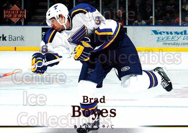 2007-08 Upper Deck #18 Brad Boyes<br/>12 In Stock - $1.00 each - <a href=https://centericecollectibles.foxycart.com/cart?name=2007-08%20Upper%20Deck%20%2318%20Brad%20Boyes...&quantity_max=12&price=$1.00&code=136870 class=foxycart> Buy it now! </a>