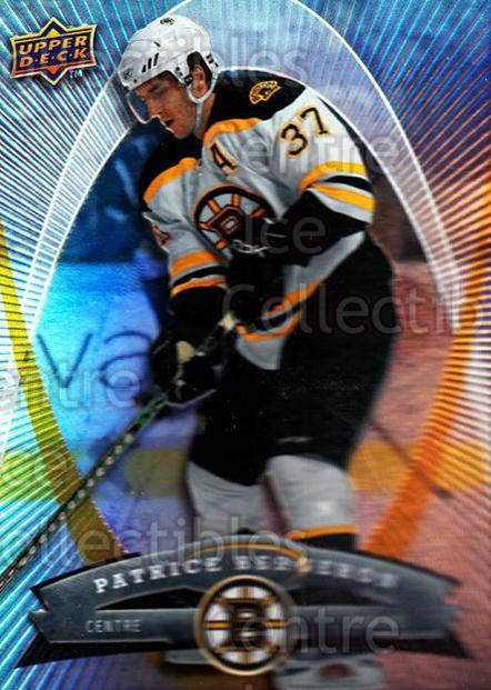 2008-09 McDonalds Upper Deck #4 Patrice Bergeron<br/>4 In Stock - $2.00 each - <a href=https://centericecollectibles.foxycart.com/cart?name=2008-09%20McDonalds%20Upper%20Deck%20%234%20Patrice%20Bergero...&quantity_max=4&price=$2.00&code=136942 class=foxycart> Buy it now! </a>