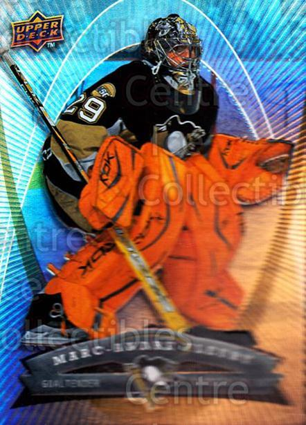 2008-09 McDonalds Upper Deck #40 Marc-Andre Fleury<br/>5 In Stock - $2.00 each - <a href=https://centericecollectibles.foxycart.com/cart?name=2008-09%20McDonalds%20Upper%20Deck%20%2340%20Marc-Andre%20Fleu...&quantity_max=5&price=$2.00&code=136943 class=foxycart> Buy it now! </a>