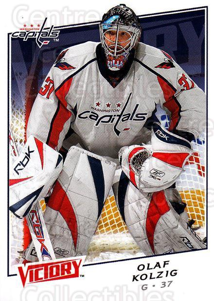 2008-09 UD Victory #1 Olaf Kolzig<br/>6 In Stock - $1.00 each - <a href=https://centericecollectibles.foxycart.com/cart?name=2008-09%20UD%20Victory%20%231%20Olaf%20Kolzig...&quantity_max=6&price=$1.00&code=137043 class=foxycart> Buy it now! </a>