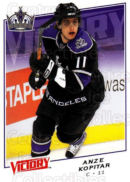 2008-09 UD Victory #102 Anze Kopitar<br/>6 In Stock - $1.00 each - <a href=https://centericecollectibles.foxycart.com/cart?name=2008-09%20UD%20Victory%20%23102%20Anze%20Kopitar...&quantity_max=6&price=$1.00&code=137047 class=foxycart> Buy it now! </a>