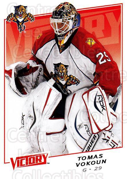 2008-09 UD Victory #110 Tomas Vokoun<br/>6 In Stock - $1.00 each - <a href=https://centericecollectibles.foxycart.com/cart?name=2008-09%20UD%20Victory%20%23110%20Tomas%20Vokoun...&quantity_max=6&price=$1.00&code=137056 class=foxycart> Buy it now! </a>