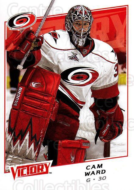 2008-09 UD Victory #157 Cam Ward<br/>5 In Stock - $1.00 each - <a href=https://centericecollectibles.foxycart.com/cart?name=2008-09%20UD%20Victory%20%23157%20Cam%20Ward...&quantity_max=5&price=$1.00&code=137099 class=foxycart> Buy it now! </a>