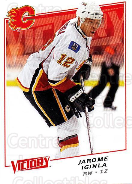 2008-09 UD Victory #164 Jarome Iginla<br/>5 In Stock - $1.00 each - <a href=https://centericecollectibles.foxycart.com/cart?name=2008-09%20UD%20Victory%20%23164%20Jarome%20Iginla...&quantity_max=5&price=$1.00&code=137107 class=foxycart> Buy it now! </a>