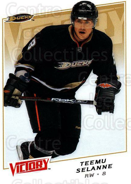 2008-09 UD Victory #191 Teemu Selanne<br/>5 In Stock - $2.00 each - <a href=https://centericecollectibles.foxycart.com/cart?name=2008-09%20UD%20Victory%20%23191%20Teemu%20Selanne...&quantity_max=5&price=$2.00&code=137137 class=foxycart> Buy it now! </a>
