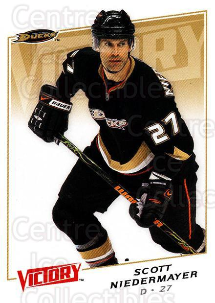 2008-09 UD Victory #193 Scott Niedermayer<br/>6 In Stock - $1.00 each - <a href=https://centericecollectibles.foxycart.com/cart?name=2008-09%20UD%20Victory%20%23193%20Scott%20Niedermay...&quantity_max=6&price=$1.00&code=137139 class=foxycart> Buy it now! </a>