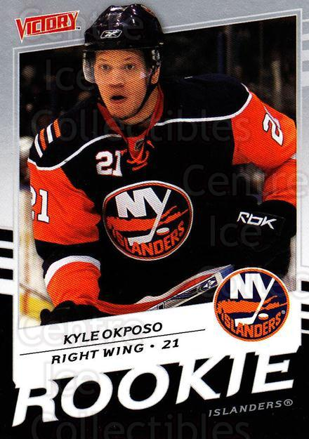 2008-09 UD Victory #245 Kyle Okposo<br/>4 In Stock - $2.00 each - <a href=https://centericecollectibles.foxycart.com/cart?name=2008-09%20UD%20Victory%20%23245%20Kyle%20Okposo...&quantity_max=4&price=$2.00&code=137180 class=foxycart> Buy it now! </a>