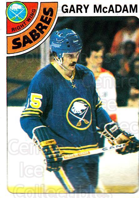 1978-79 Topps #42 Gary McAdam<br/>9 In Stock - $1.00 each - <a href=https://centericecollectibles.foxycart.com/cart?name=1978-79%20Topps%20%2342%20Gary%20McAdam...&quantity_max=9&price=$1.00&code=137269 class=foxycart> Buy it now! </a>