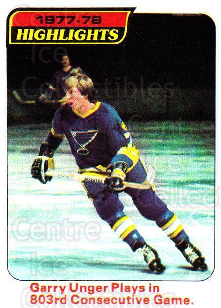 1978-79 Topps #5 Garry Unger<br/>8 In Stock - $1.00 each - <a href=https://centericecollectibles.foxycart.com/cart?name=1978-79%20Topps%20%235%20Garry%20Unger...&quantity_max=8&price=$1.00&code=137276 class=foxycart> Buy it now! </a>