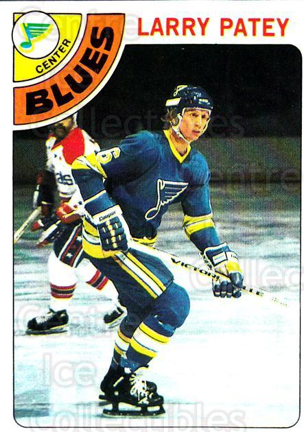 1978-79 Topps #8 Larry Patey<br/>11 In Stock - $1.00 each - <a href=https://centericecollectibles.foxycart.com/cart?name=1978-79%20Topps%20%238%20Larry%20Patey...&quantity_max=11&price=$1.00&code=137303 class=foxycart> Buy it now! </a>
